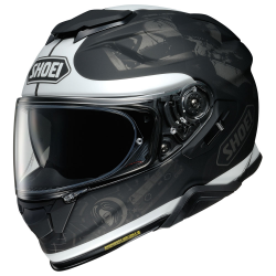 CASCO INTEGRALE GT-AIR II REMINISCE TC-5 BLACK GREY | SHOEI