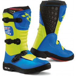 STIVALI OFFROAD COMP KIDS ROYAL BLUE/YELLOW FLUO | TCX
